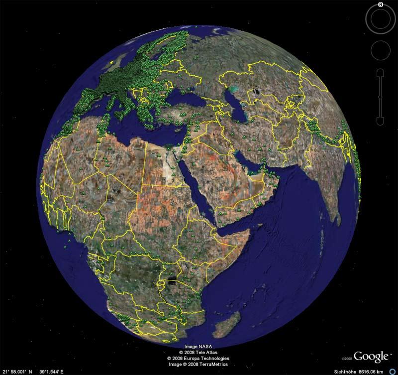 Cing np botschaften weltweit googleearth gpx