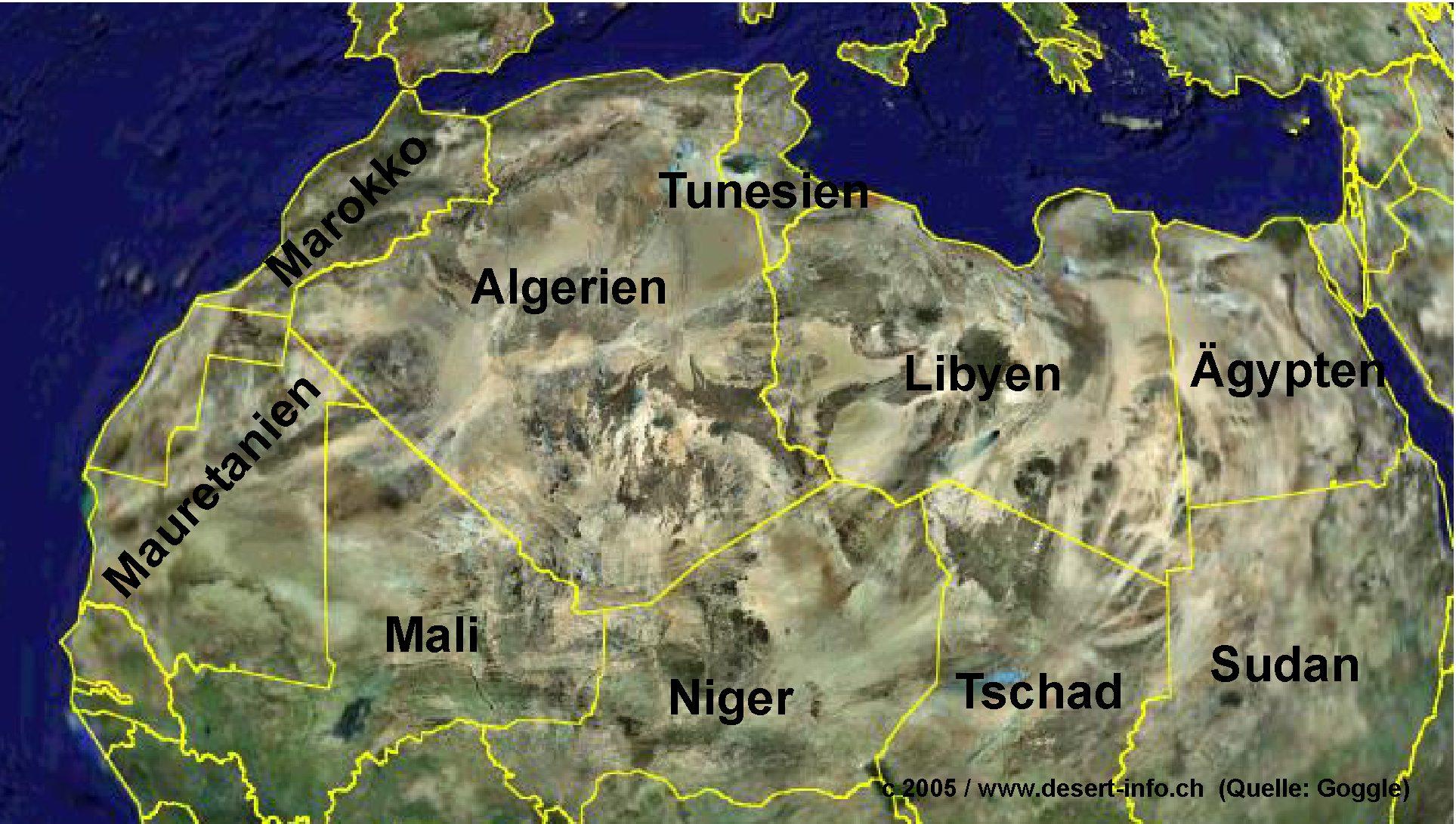 länder nordafrika